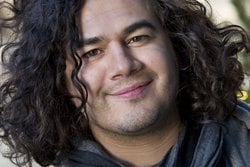 Intervju, Getty Domein, Musik,  Here comes the flood, Chris Medina