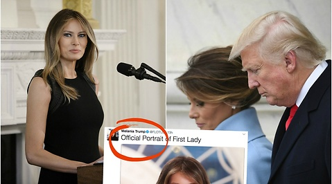 Photoshop, First Lady, Melania Trump