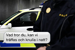Polis domd for rattfylla far behalla jobbet