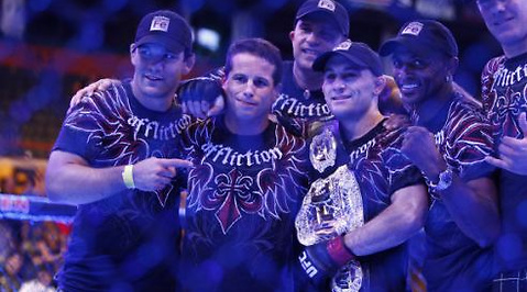 Randy Couture, Frankie Edgar, BJ Penn, James Toney, UFC
