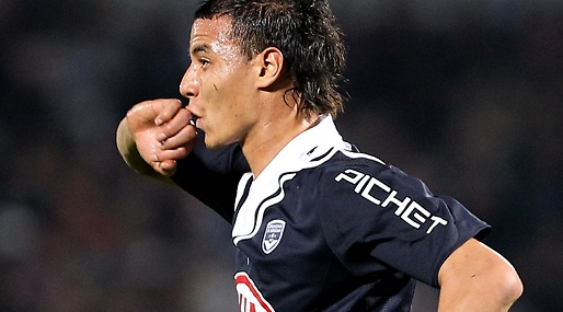 Arsenal, Marouane Chamakh, Bordeaux