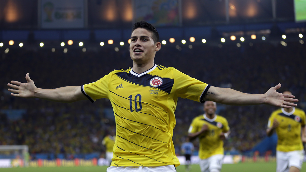 James Rodriguez, Colombia.