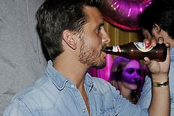 Kourtney Kardashian, Alkohol, Scott Disick