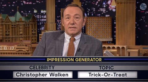Kevin Spacey, Jimmy Fallon, Imitera