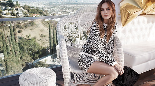 Colloboration,  Clothes, Leighton Meester, Fashion, Nelly