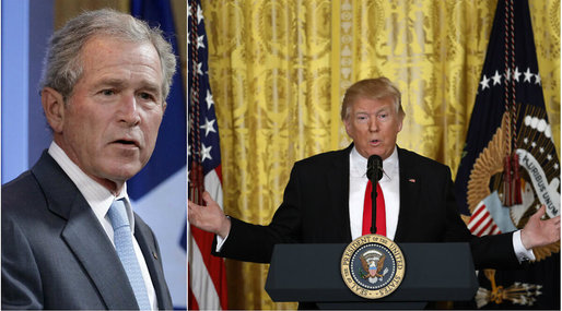 Media, Fake news, Pressfrihet, Donald Trump, Kritik, George W Bush