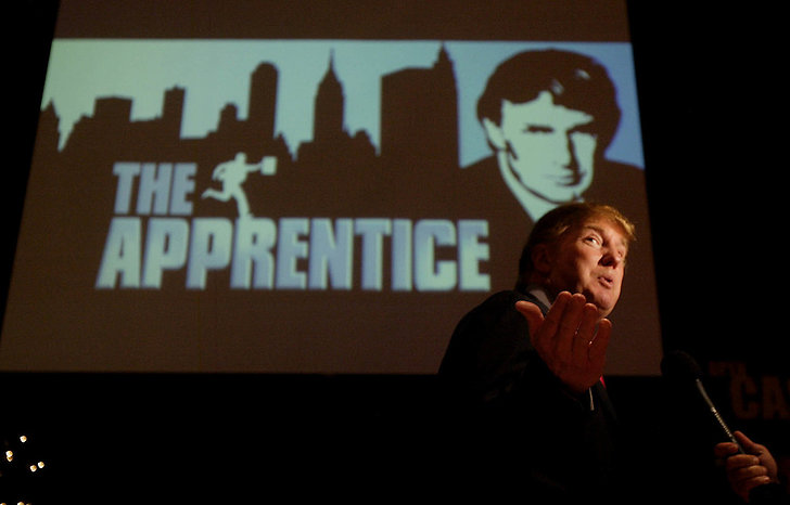 Donald Trump programledde The Apprentice