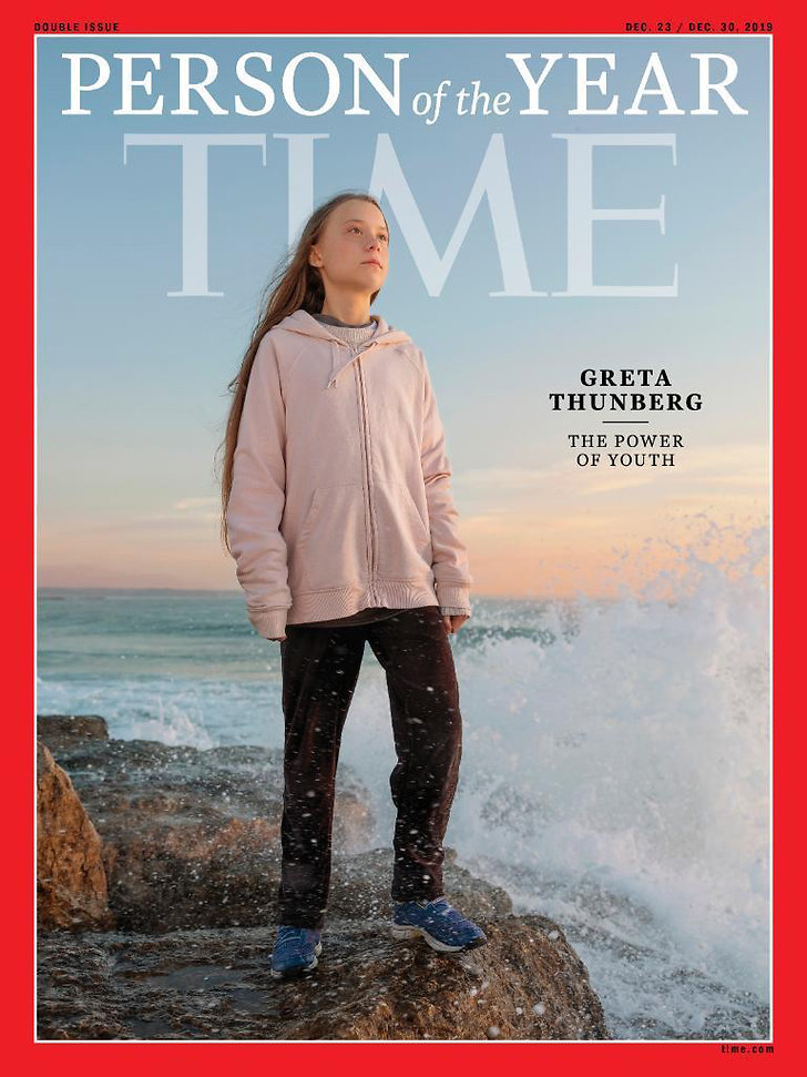 Greta Thunberg utsågs till årets person av Time Magazine.