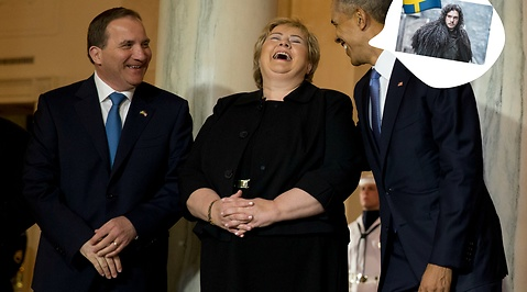 Stefan Löfven, Vita huset, game of thrones, Donald Trump, Abba, Presidenten, Viking, Svenska språket, Avicii, Barack Obama, Washington DC