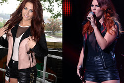 Molly Sandén, Frida Sandén, X-factor
