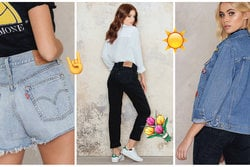 Jeans, Shopping, Denim