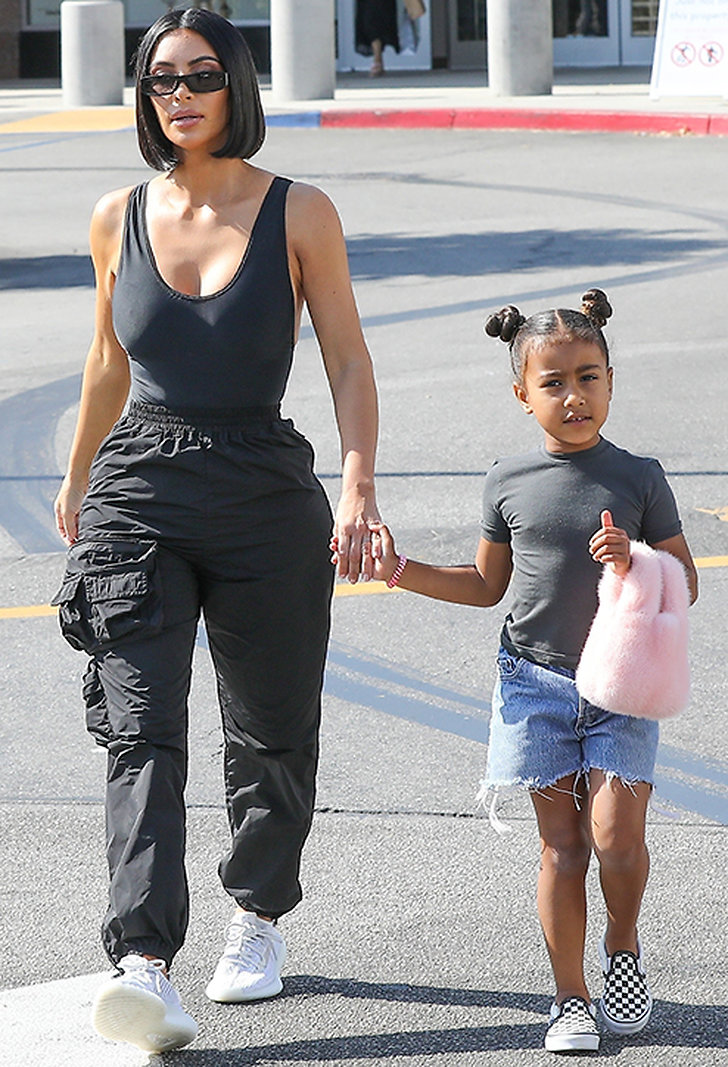 Kim Kardashian och North West