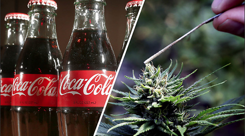 Cannabis, Coca-Cola