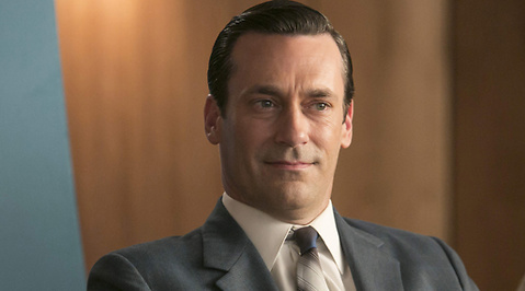 Jon Hamm, Nollning, Mad Men