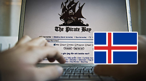 Pirate Bay, Torrent, Island, Fildelning, Grönland, Domän