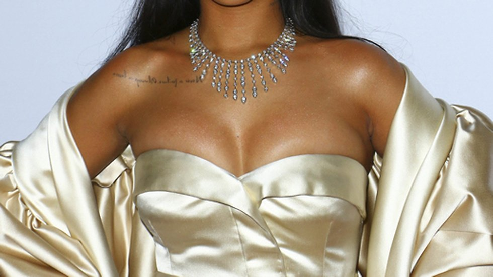 Rihanna på sin Diamond Ball.