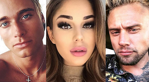 Adrian Montin, Ex On The Beach, Jasmine Gustafsson, Eric Hagberg