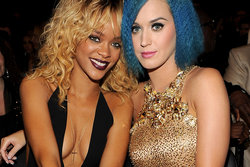 Katy Perry, Rihanna, Förhållande, Hollywood