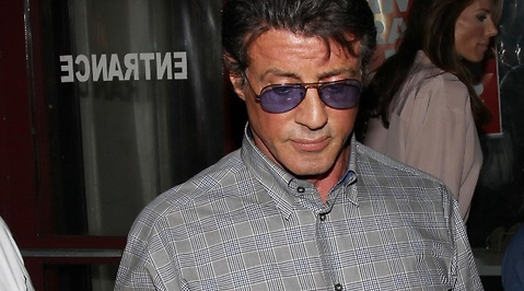 Sylvester Stallone, Late Show, David Letterman, Robyn