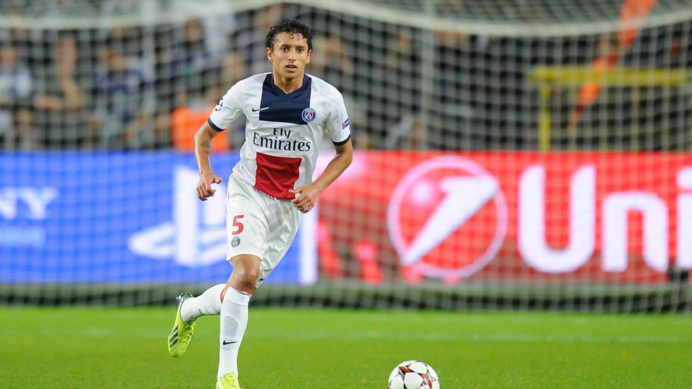 5. Marquinhos (Paris Saint-Germain).