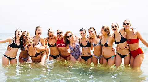 Gigi Hadid, Ruby Rose Langenheim, Karlie Kloss, Taylor Swift