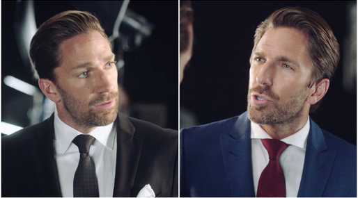 Henrik Lundqvist, Joel Lundqvist, Head and Shoulders, ishockey