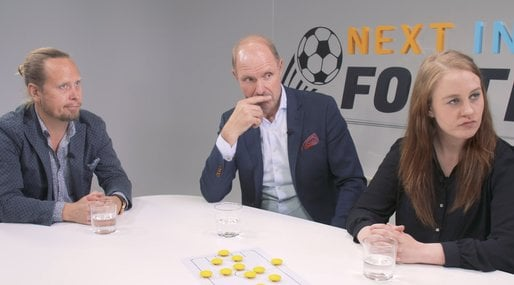 Fotbolls-EM, Patrick Ekwall,  Jesper Hussfelt, Next in football
