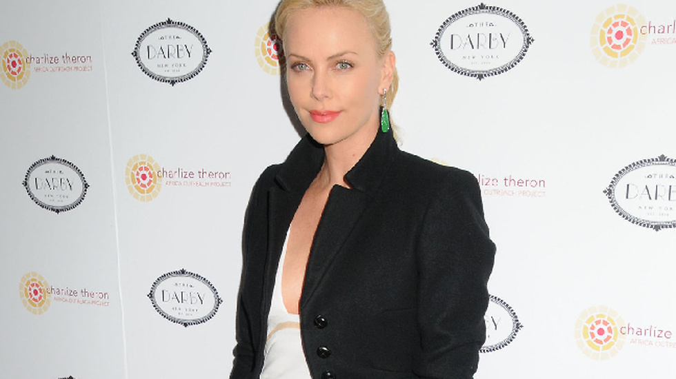 ...Charlize Theron.