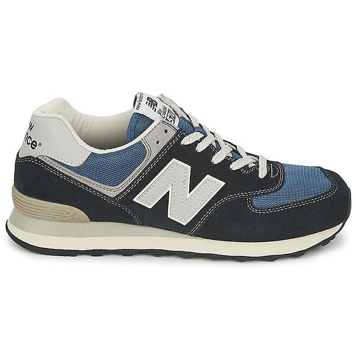 New Balance ML574 Black/Blue (Herr)