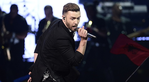 Måns Zelmerlöw, Justin Timberlake, Eurovision Song Contest