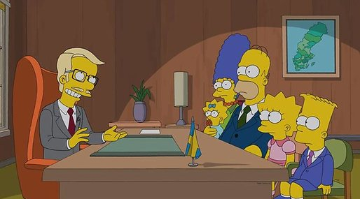 Fildelning, Simpson, tv-serie, TV, Homer
