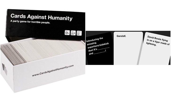 Cards against humanity spel