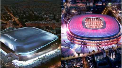 Real Madrid, Barcelona, Camp Nou