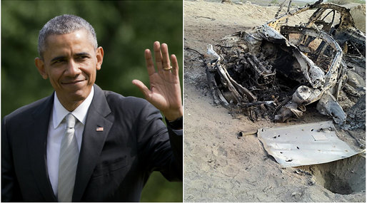Taliban, Attack, Drönare, Obama