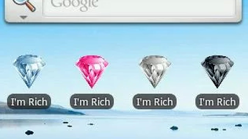 I'm Rich!! (White Diamond).