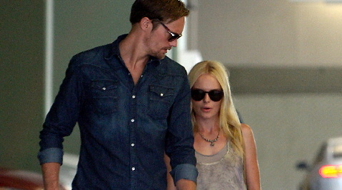 Relationstips, Singel, Paparazzi, Alexander Skarsgård, Kate Bosworth, Slut, Hollywood