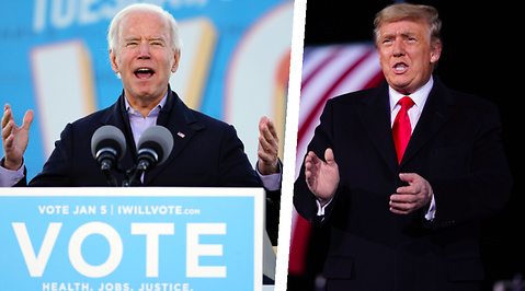 Donald Trump, USA, Kamala Harris, Valet i USA 2020, Joe Biden