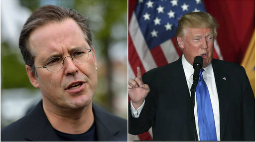 Anders Borg,  USA-valet, Hillary Clinton, Presidentvalet i USA, Donald Trump