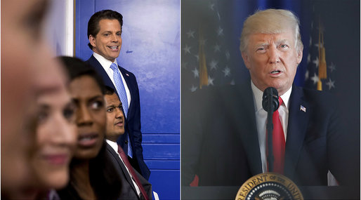 Anthony Scaramucci​, Donald Trump