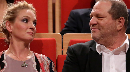 Uma Thurman till hård attack mot Harvey Weinstein