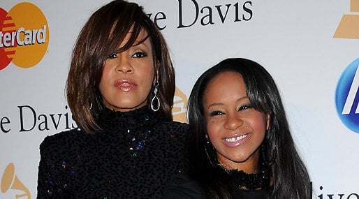 Bobbi Kristina Brown,  Whitney Huston, Död