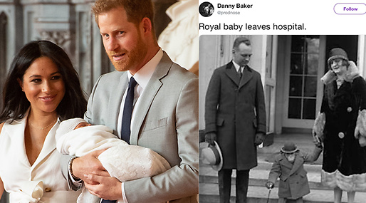 Archie Harrison Mountbatten-Windsor, Meghan Markle, Prins Harry