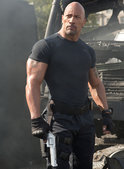 Dwayne The Rock Johnson som Hobbs i Fast & Furious 6.