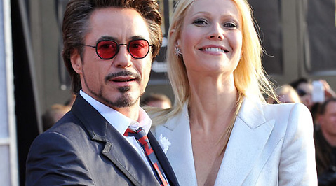 Gwyneth Paltrow, Robert Downey Jr