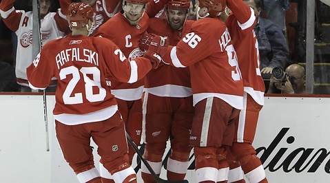 Detroit Red Wings, ishockey, nhl, Nicklas Lidstrom, Henrik Zetterberg