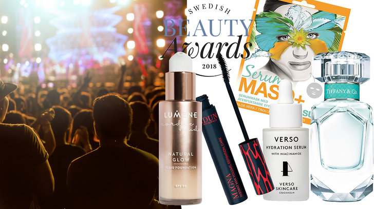 Vinnare i Swedish Beauty Awards 2018