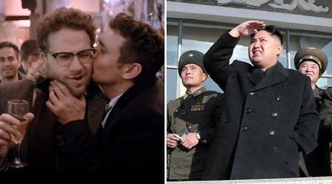 James Franco, Seth Rogen, The Interview, Kanye West, Kim Kardashian