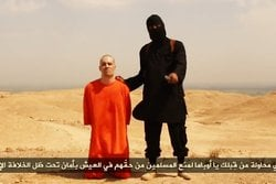 Youtube, is,  James Foley,  ISIS, Avrattning,  Islamiska staten, Video, Barack Obama