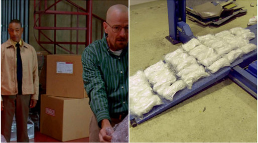 Amfetamin, knark, Breaking Bad