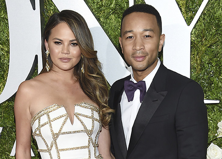 Chrissy Teigen och John Legend